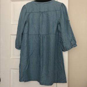 H&M Dresses - H&M Chambray Dress/Tunic, Size 10